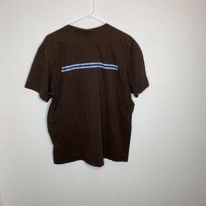 Nike Shirts - Nike Mens XL Brown and Blue Short Sleeve Shirt